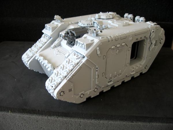 Land Raider Warhammer Blanc